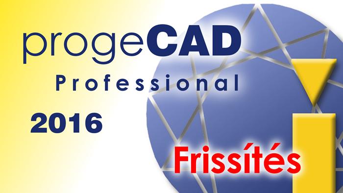 progeCAD frissítés